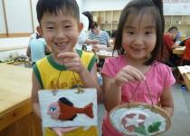 170626夏休み親子体験教室:親子こて絵教室