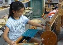 夏休み親子体験:はた織り