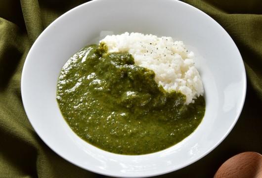 アダージョ:大分大葉のグリーンカレー1