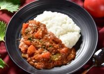 アダージョ:大分大葉と赤採りトマトのカレー1
