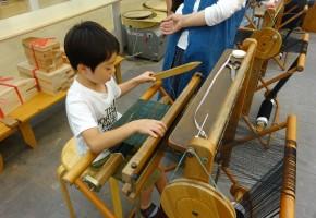 180625夏休み親子体験教室:はた織り